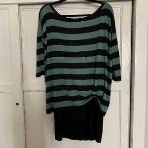 Bailey 44 Green/Black Adorable Dress!